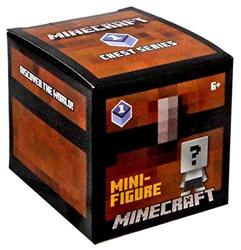 Minecraft Check Lane Chest Series 1 Blind Box Mini Figure