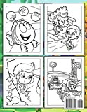 Bubble Guppies Coloring Book: Kids Coloring Book