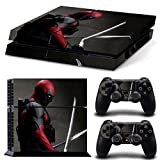 GoldenDeal PS4 Console and DualShock 4 Controller Skin Set – SuperHero – PlayStation 4 Vinyl Review