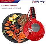 Moongiantgo Electric Barbecue Grill Smoke-less