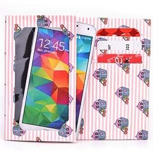 Tyvek Wallet for Smartphones - LG VS980 G2 Paper Wallet (Pink Cupcakes)