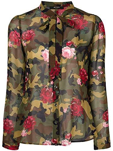 Twin Donna Camouflage Camicia Set Rose Ja82pb 8xUq4afq