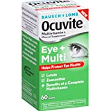 Bausch & Lomb Ocuvite, Eye + Multi, 60 Tablets – 2pc Review