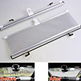 Best Visor Shields For IPhones - Buildent 50cm Portable Roller Blind Curtain Windshield Reflective Review