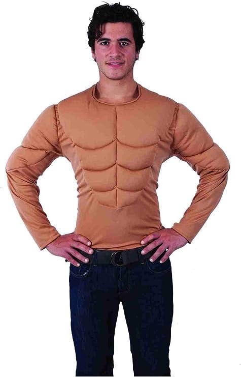 ORION COSTUMES Disfraz de Pecho de Hombre Musculoso Superhéroe ...