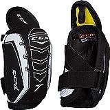 CCM Unisex Tacks Hockey Elbow Pads, Black, M