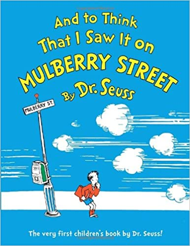 Image result for and to think that i saw it on mulberry street amazon