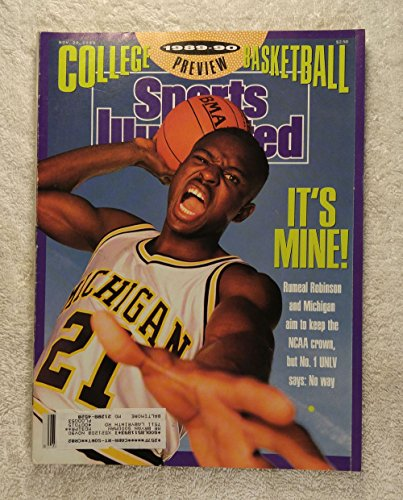 1989 Michigan Wolverines Basketball (Rumeal Robinson - Michigan Wolverines - Sports Illustrated - November 20, 1989 - College basketball - SI)