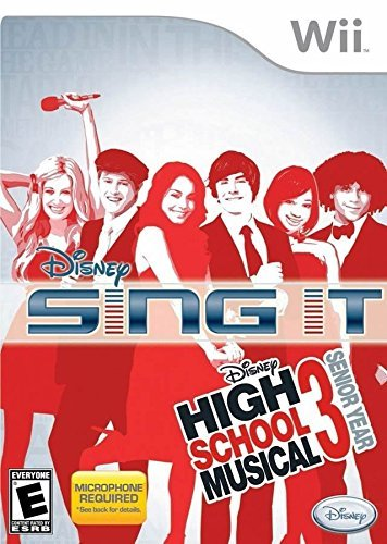 Wii Disney High School Musical 3 Senior Year Sing It - Microphone Required by Disney Interactive Studios