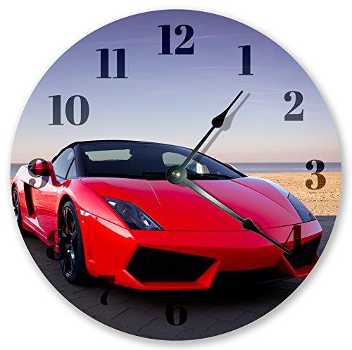 105-hot-red-lamborghini-clock-large-105-wall-clock-home-decor-clock