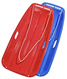 Search : Slippery Racer Downhill Sprinter Winter Toboggan Snow Sled - 2 PACK