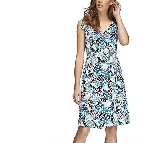 Joe Fresh Women's Print Tie Shoulder Dress XS Fresh Green (Apparel Green Fresh)