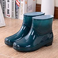 Deals on Trenlp Women PVC Rain Boots