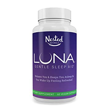 Luna | #1 Sleep Aid on Amazon | Naturally Sourced Ingredients | 60 Non-