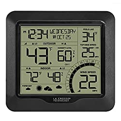 La Crosse Technology 327-1417bw Wind Speed Weather Station