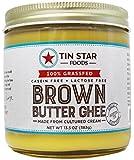 Tin Star Brown Butter - 100% Grassfed - Gluten-Free - Non GMO - Paleo - Made in USA - 13.5 oz