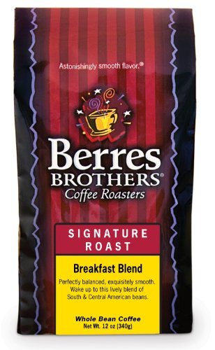 Berres Brothers Coffee - Breakfast Blend Whole bean - 12 ounce whole bean