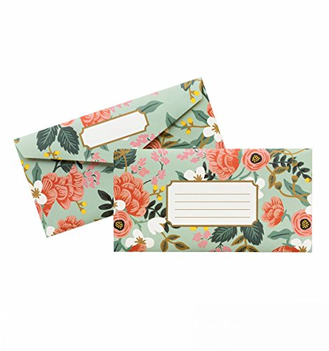 Rifle Paper Co Monarch Mint Birch Envelopes ()