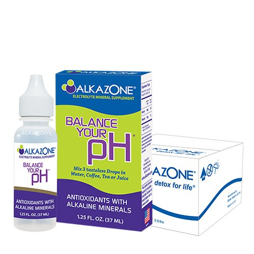 ALKAZONE® Balance Your pH (Antioxidants Alkaline Mineral Booster & Supplements) (6-Pack) by Alkazone