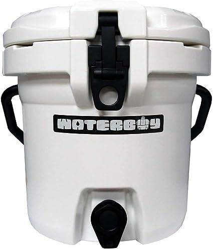 Fatboy 2.5 Gallon Waterboy Water Jug Cooler White