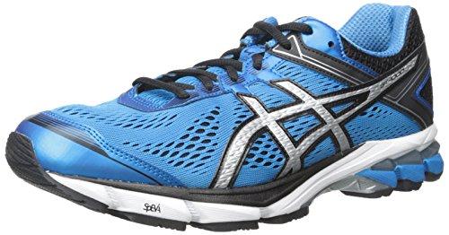 ASICS Men's GT 1000 4 Running Shoe, Black/Onyx/Black, 10 2E US