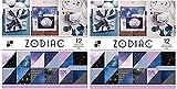 DCWV Card Stock 12''X12'' Zodiac Premium Printed Cardstock Stack (Twо Расk)