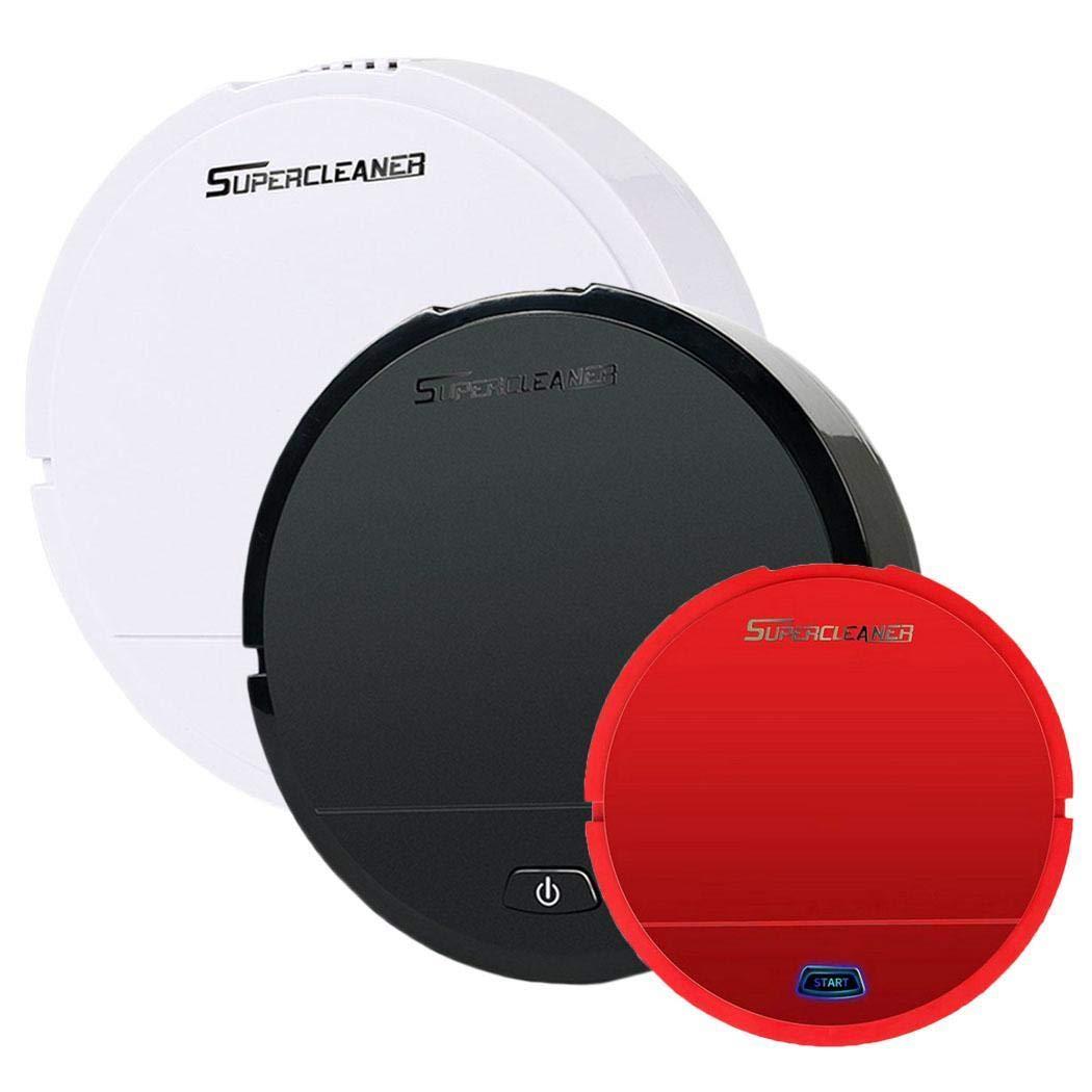 Kuerli Robot Aspirador, Limpiadores robóticos Limpiador Mini automático Smart Clean Robot Limpiador de Suelos Herramienta de Limpieza por aspiración