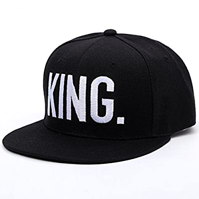 fashion KING QUEEN embroidered letter youth Lover Men women Baseball cap black hip hop cap snapback hats