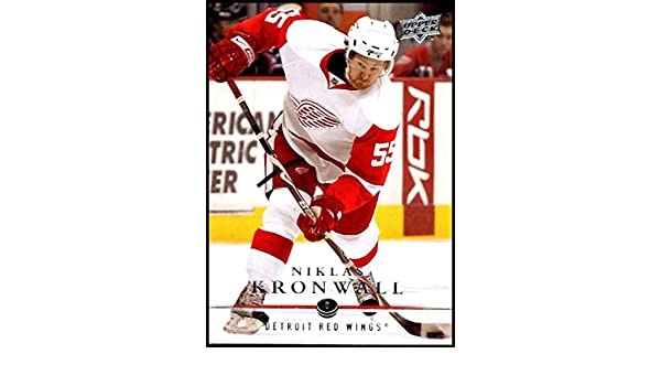 375c56a88e7 Amazon.com  2008-09 Upper Deck  131 Niklas Kronwall NM-MT Detroit Red Wings  Oficial NHL Hockey Card  Collectibles   Fine Art
