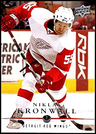a5d5353db51 2008-09 Upper Deck  131 Niklas Kronwall NM-MT Detroit Red Wings Oficial