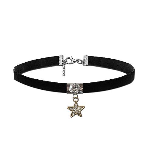 3e0487e54990 tumundo Collar de Gargantilla Choker Cadena Tatuaje Henna Collar ...
