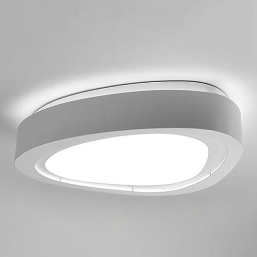 LIXIONG LED De Hierro Simple Ideas Modernas Lámpara De Techo Sala ...