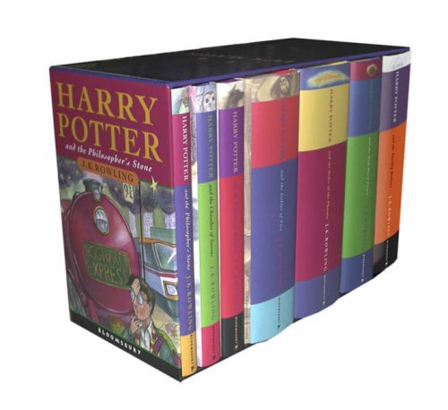 New Used Books Harry Potter Hardcover Box Set Books 1 7