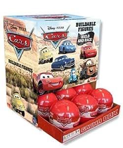 Cars - TYE8074 - Juguetes Preescolar - Cars figuras edificable - Sorpresa de la cápsula (Importado de Francia)