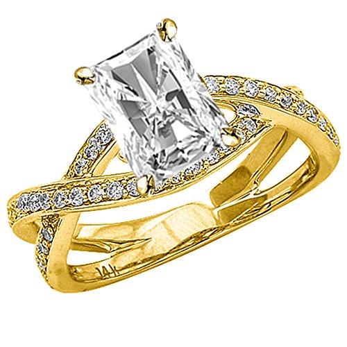 0.79 Ct Radiant Diamond - 4