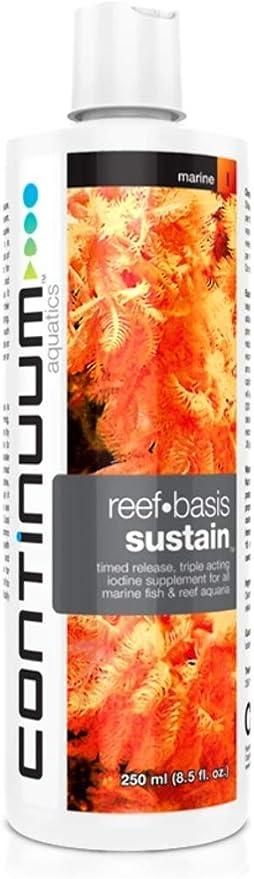 Continuum Aquatics Reef Basis Sustain – Time Release Iodine Supplement for Marine Fish and Reef Saltwater Aquarium