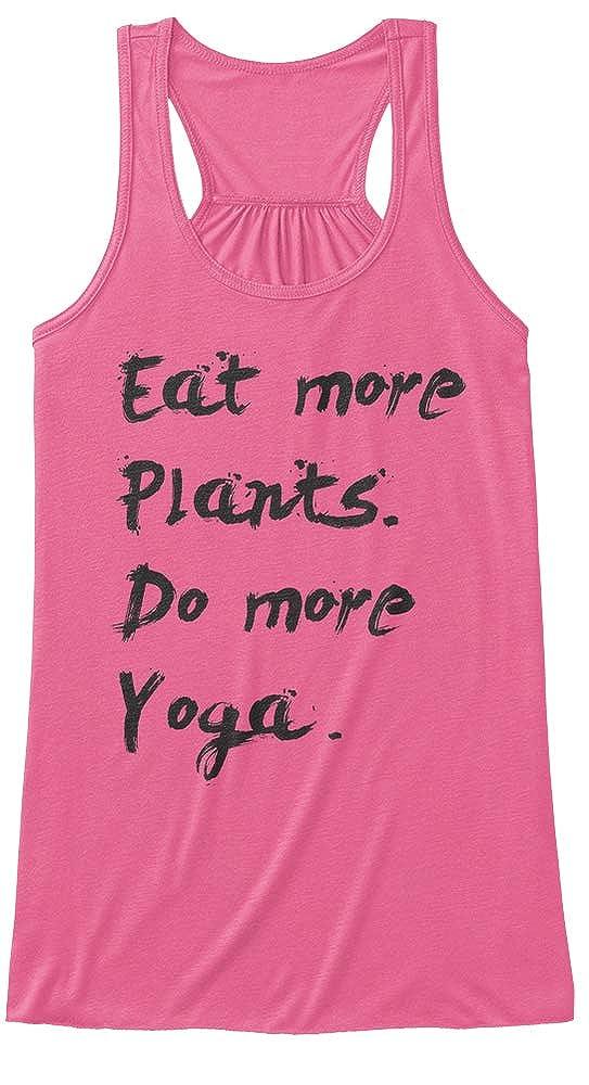 Amazon.com: Eat More Plants Do More Yoga Tank Tops - Womens ...