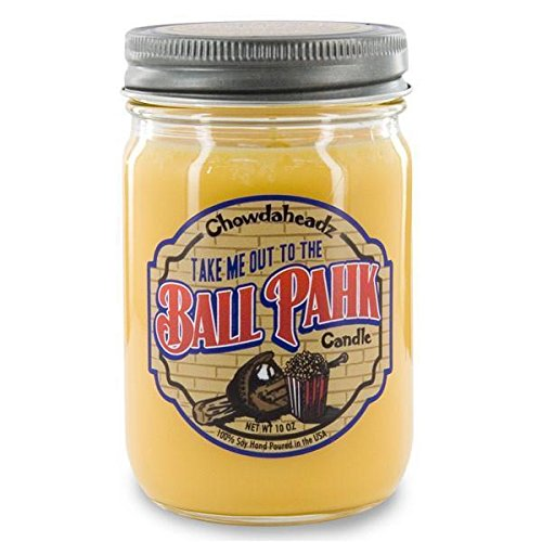 Take Me Out to the Ball Pahk Candle 100 %大豆、すべての自然、Made in the USA by Chowdaheadz B01IQKVUZ4