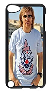 iPod 5 Cases, Hot Sale Personalized David Guetta Protective Hard PC Plastic Black Edge Case Cover for Apple iPod Touch 5 5th Generation