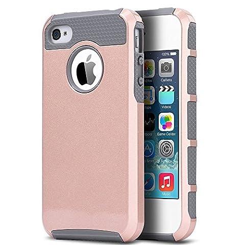 iPhone 4 Case, iPhone 4S Case ,4S Case,ULAK [ Colorful