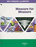 Measure/Measure Math/Context, H. Freudentha, 0030712815