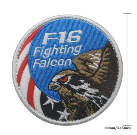 Used, AIR Force Fighting Falcon F-16 Military Patch Fabric for sale  Delivered anywhere in USA