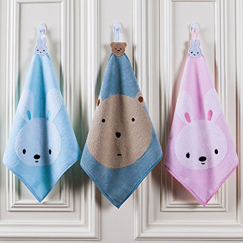 Pesp® Baby Infant Kids 3-pack Washcloths Hand Towels