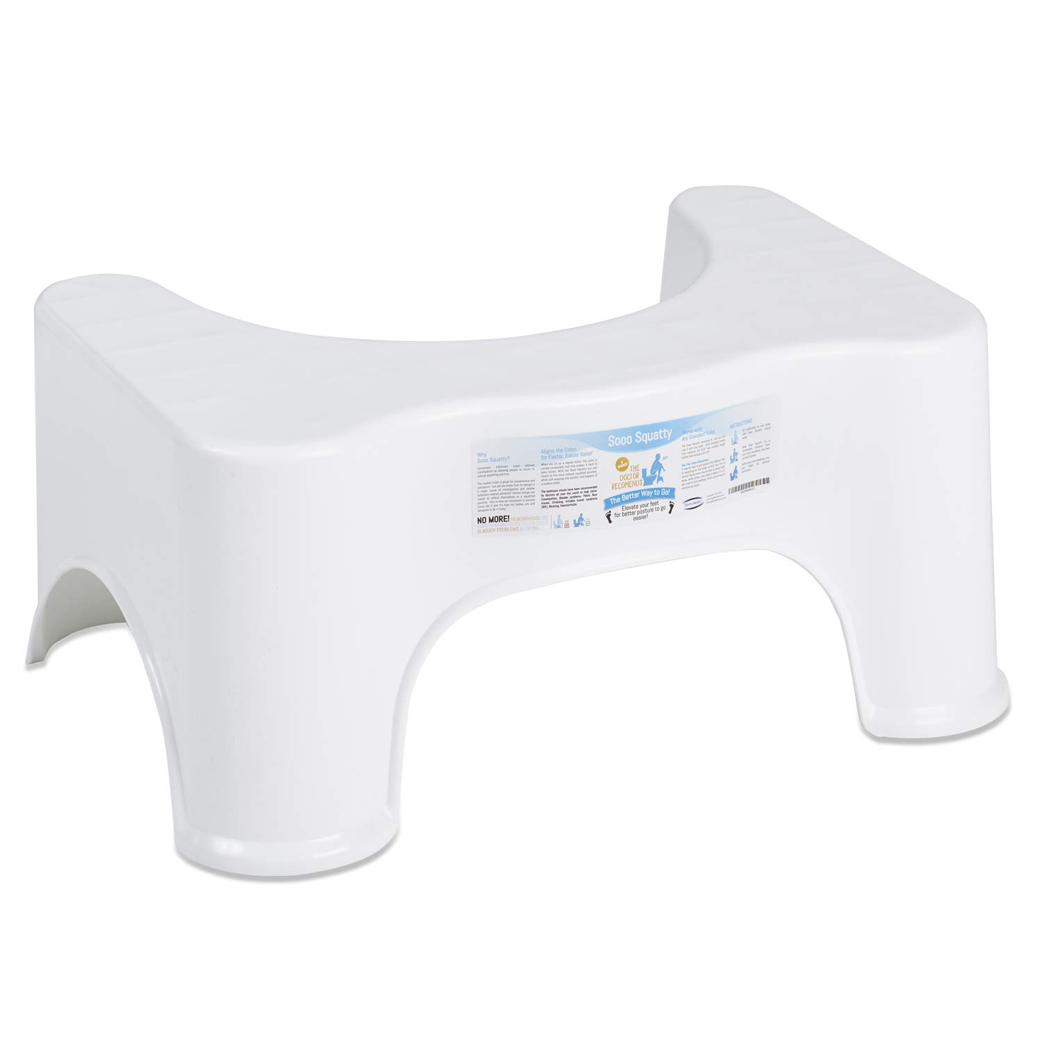Awesome Derma Medico Squatting Toilet Stool 9 Inch Non Slip Bathroom Step Up Stool Relieves Constipation Bloating Aligns The Colon For Faster Easier Inzonedesignstudio Interior Chair Design Inzonedesignstudiocom