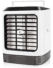 Climatiseurs portables, Refroidisseur D'air USB Climatiseur 3 EN 1 Réglable Air Climatiseur Mini Air Refroidisseur Humidificateur Purificateur pour Maison /Bureau /Camping