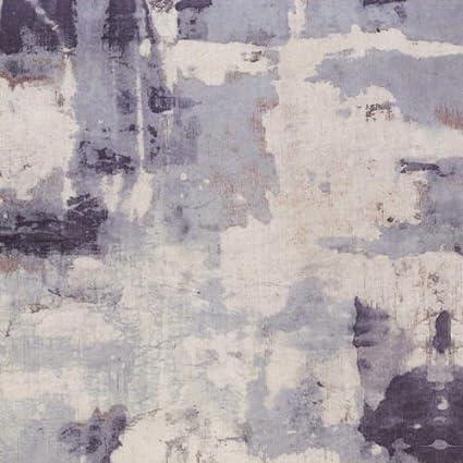 29196126 Bleu Art Abstrait Casadeco Oxyde Papier Peint