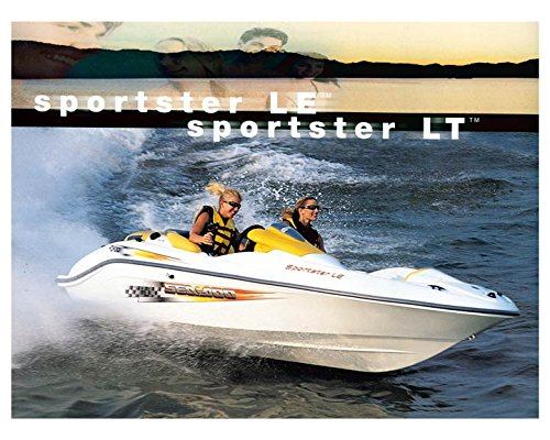 Amazon 2002 Sea Doo Sportster LE Power Boat Photo Poster