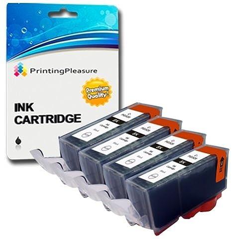 2 Negro Cartuchos de Tinta compatibles para Canon Pixma MG5750 MG5751 MG6850 MG6851 MG7750 TS5050 TS6050 MG5752 MG5753 MG6852 MG6853 TS5051 TS5053 ...