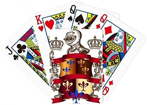 Armor emblema Medieval caballeros de Europa Poker juego de cartas Juego De Mesa Regalo: Amazon.es: Deportes y aire libre