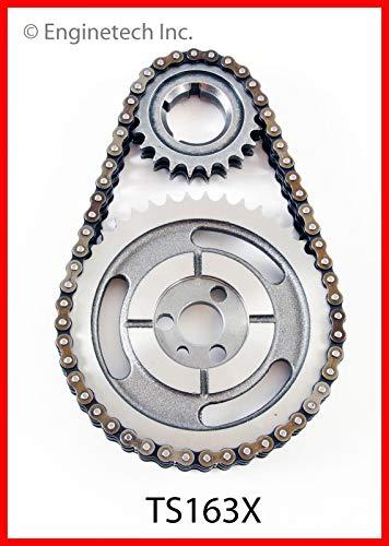 C2500 Pickup Engine - Enginetech TS163X Timing Set GM 283 305 327 350 383 400 DBL RL 3 KEY